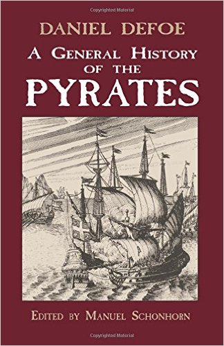 Book cover for A General History of the Pyrates by Daniel Defoe
