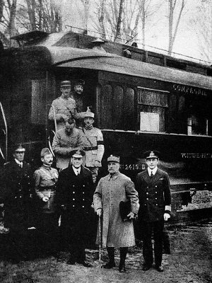 Allied Representatives at the Signing of the Armistice