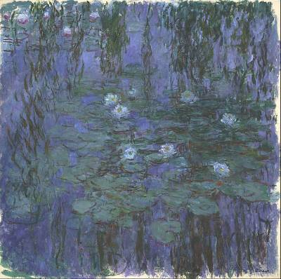 Blue Water Lilies (1916-1919)