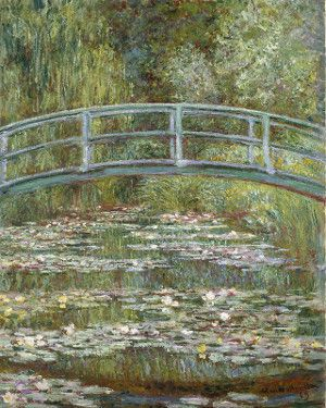 Bridge over a Pond of Water Lilies (1899)