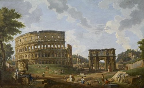 The Greatest Masterpiece Of Roman Architecture Was Built Between 72 AD And 80 Construction Started Under Emperor Vespasian Completed