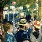 Dance at Le Moulin de la Galette by Edward Renoir