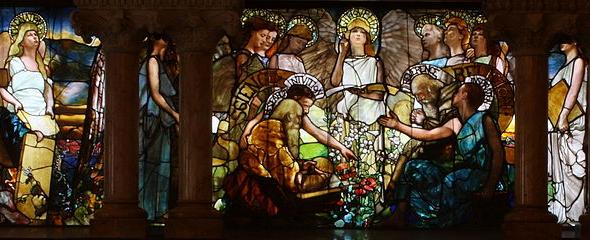 Education by Louis Comfort Tiffany