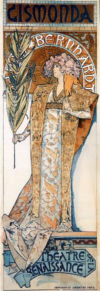 Art Nouveau Fashion Illustration