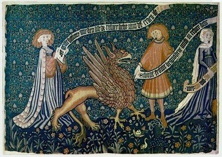 Tapestry of a Griffon