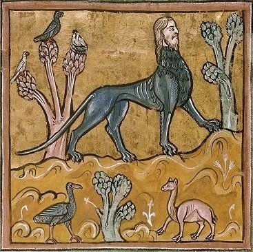 Tapestry of a Manticore