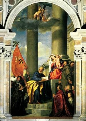 Pesaro Madonna by Titian