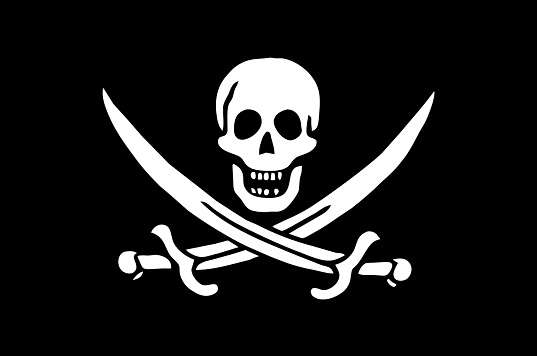 Pirate Flag of Calico Jack