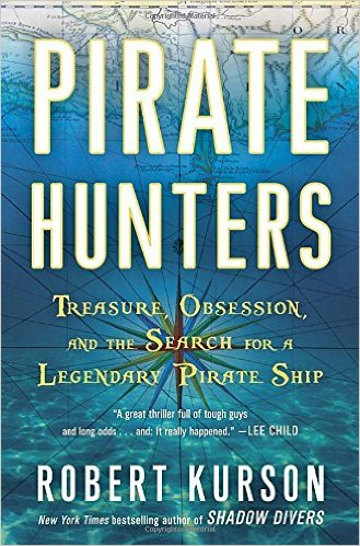 Book cover of Pirate Hunters by Robert Kurson