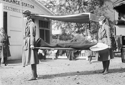 Red Cross Influenza Pandemic of 1918