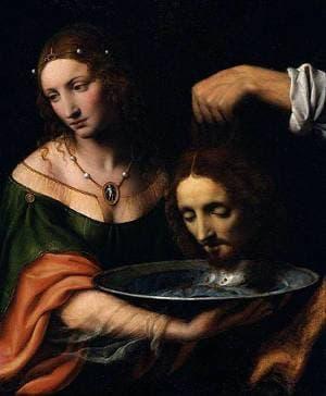 Salome By Bernardino Luini