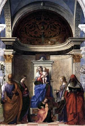 San Zaccaria Altarpiece by Giovanni Bellini