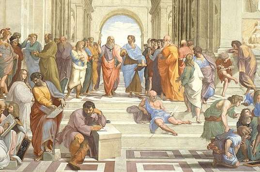 <i>The School of Athens</i> by Raphael
