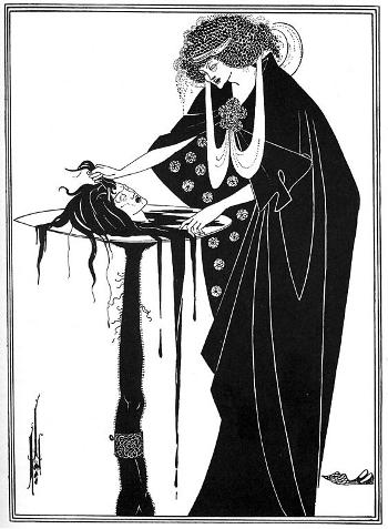 The Dancer's Reward by Aubrey Beardsley