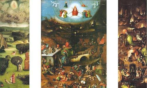 The Last Judgment by Hieronymus Bosch