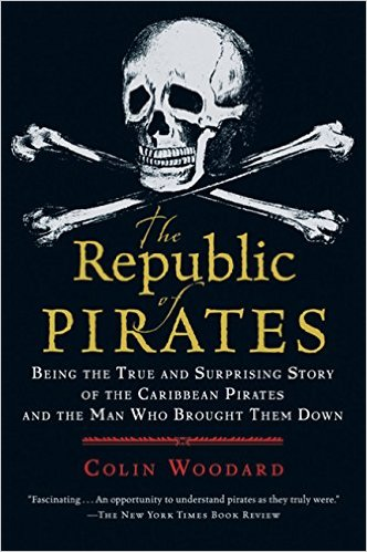 Book cover for The Republic of Pirates by Colin Woodard