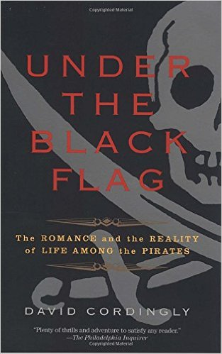 Book cover for Under the Black Flag by David Cordingly