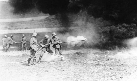 WWI Flamethrower