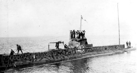 WWI Submarine